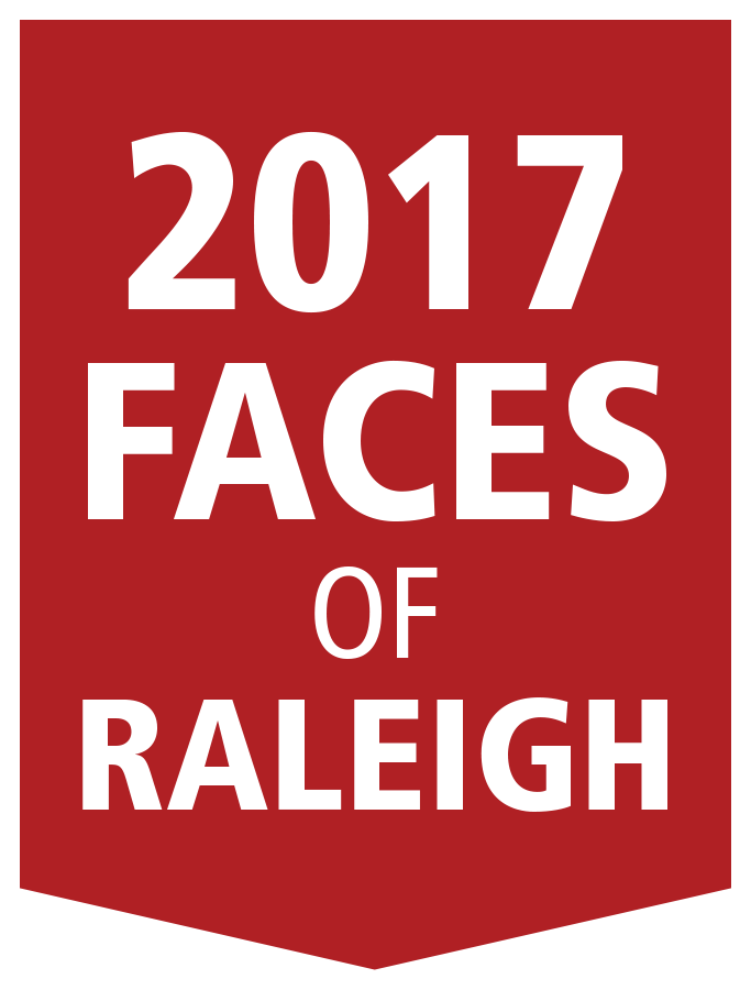2017 faces of raleigh logo