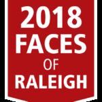 2018 faces of raleigh logo