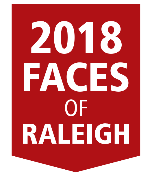 2018 faces of raleigh logo