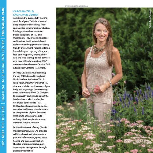 Dr. Tracy in Midtown Magazine
